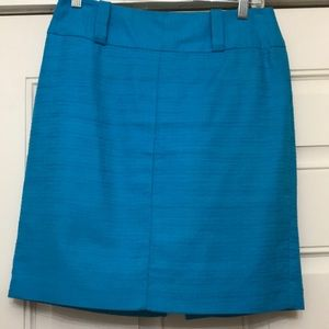 Trina Turk Gorgeous Teal skirt size 4!
